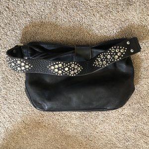 Black leather Tylie Malibu purse